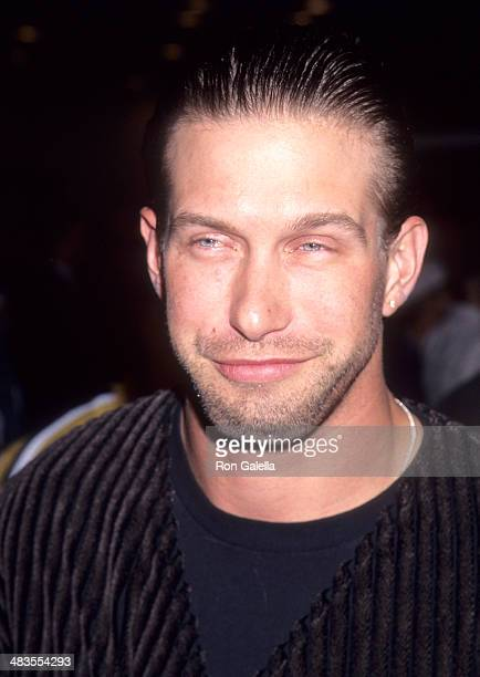 Actor Stephen Baldwin attends the 'Ace Ventura When Nature Calls' Westwood Premiere on November 8 1995 at the Mann Village Theatre in Westwood...