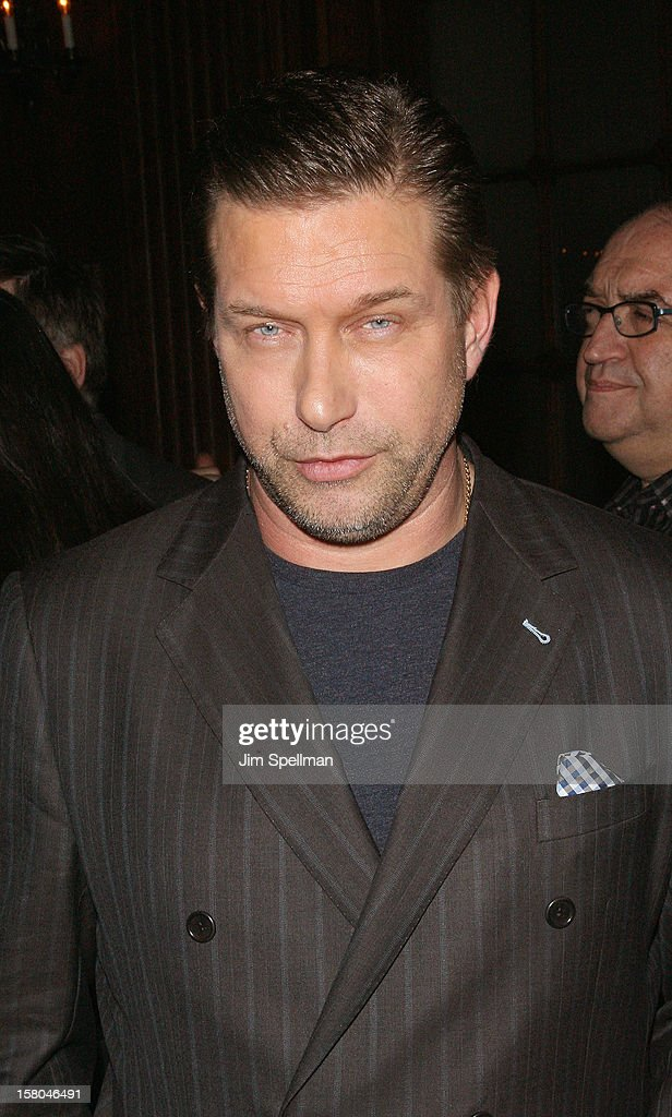 Actor Stephen Baldwin attends The Cinema Society With Chrysler & Bally Host The Premiere Of 'Stand Up Guys' After Party at The Plaza Hotel on December 9, 2012 in New York City.