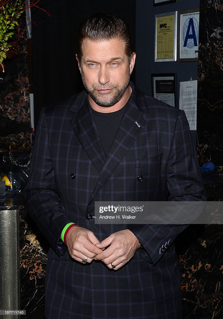 Actor Stephen Baldwin attends the Film District and Chrysler with The Cinema Society premiere of 'Playing For Keeps' after party at Dream Downtown on December 5, 2012 in New York City.