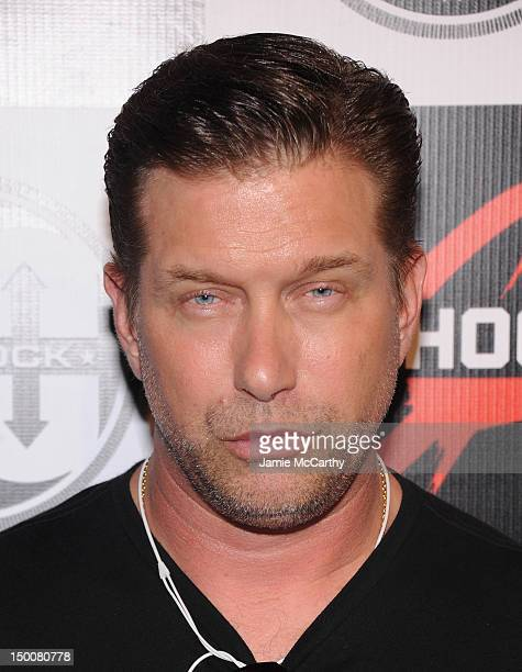 Actor Stephen Baldwin attends the GShock 30th Anniversary Kick Off Event at the Hammerstein Ballroom on August 9 2012 in New York City