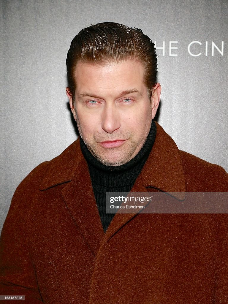 Actor <a gi-track='captionPersonalityLinkClicked' href=/galleries/search?phrase=Stephen+Baldwin&family=editorial&specificpeople=213776 ng-click='$event.stopPropagation()'>Stephen Baldwin</a> attends the Gucci and The Cinema Society screening of 'Oz the Great and Powerful' at the DGA Theater on March 5, 2013 in New York City.
