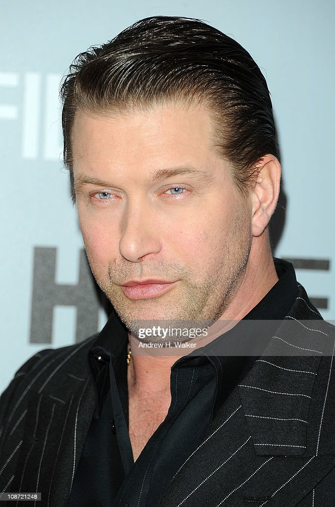 Actor Stephen Baldwin attends the HBO Films & The Cinema Society screening of 'Sunset Limited' at the Time Warner Screening Room on February 1, 2011 in New York City.