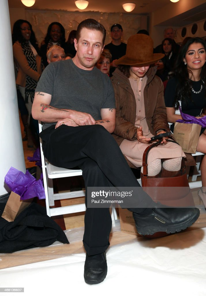 Actor Stephen Baldwin attends the Leanne Marshall show during MercedesBenz Fashion Week Fall 2014 at Helen Mills Event Space on February 9 2014 in...