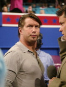 Actor Stephen Baldwin is seen on the delegate floor on the second night of the Republican National Convention Tuesday night August 31 2004 in New...