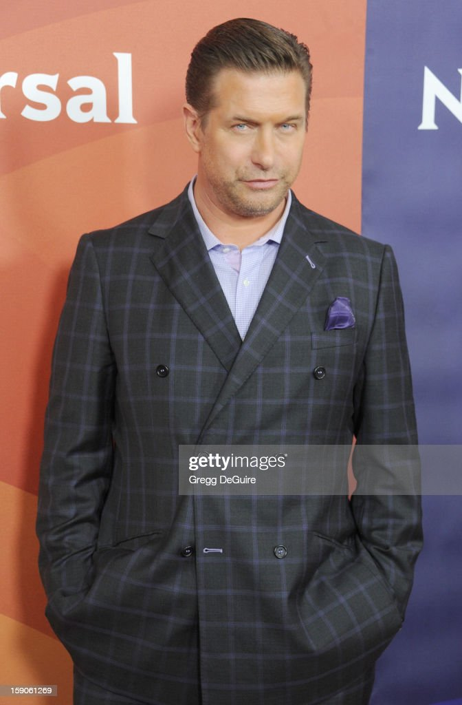 Actor Stephen Baldwin poses at the 2013 NBC Universal TCA Winter Press Tour Day 1 at The Langham Huntington Hotel and Spa on January 6, 2013 in Pasadena, California.
