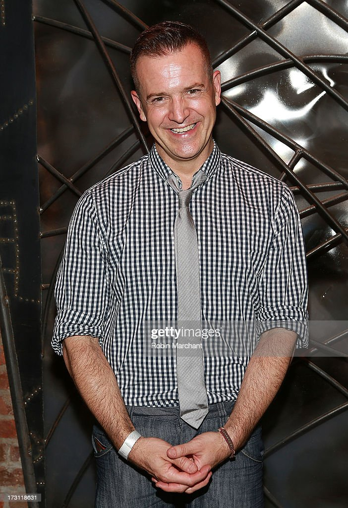 Actor Stephen Bienskie attends the closing night party for 'Silence! The Musical' at Elektra Theatre on July 7, 2013 in New York City.