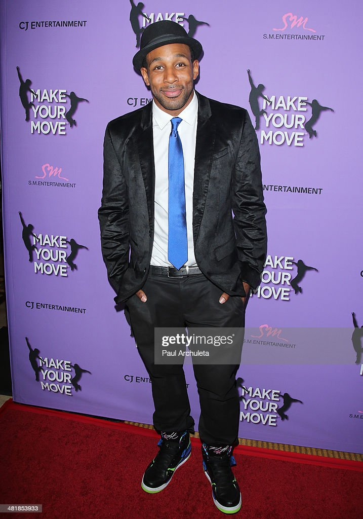Actor Stephen Boss attends the premiere of 'Make Your Move' at the Pacific Theaters at the Grove on March 31, 2014 in Los Angeles, California.