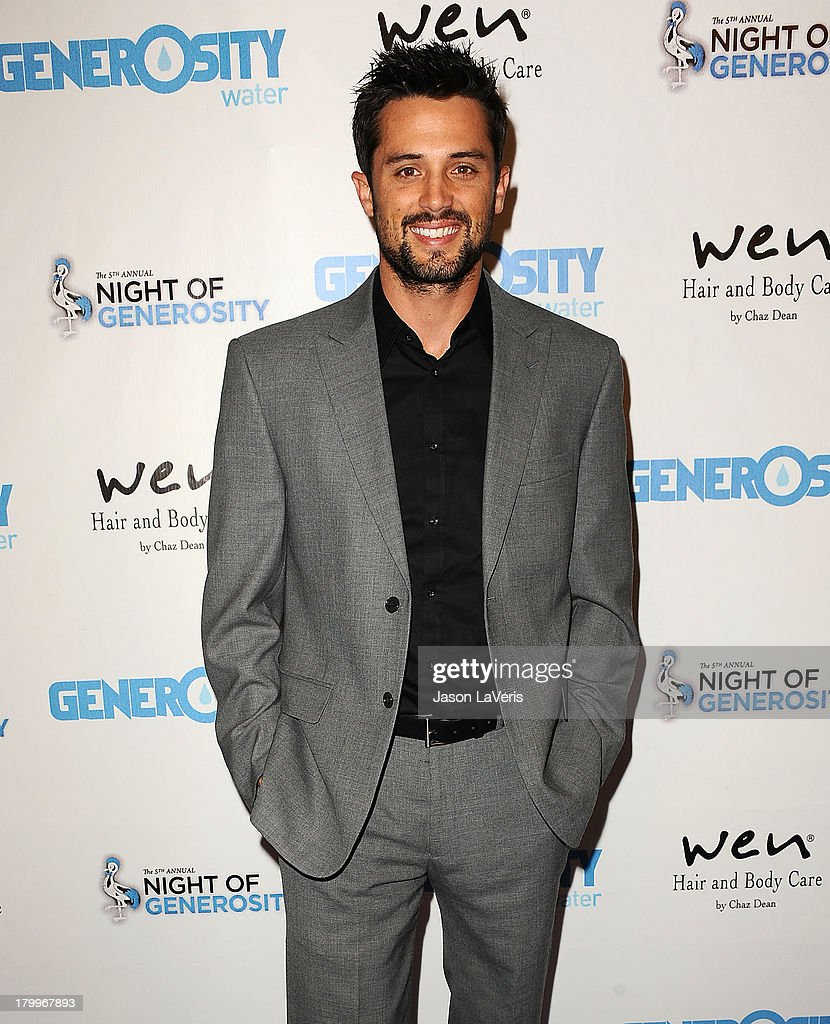 Actor <a gi-track='captionPersonalityLinkClicked' href=/galleries/search?phrase=Stephen+Colletti&family=editorial&specificpeople=595590 ng-click='$event.stopPropagation()'>Stephen Colletti</a> attends Generosity Water's 5th annual Night of Generosity benefit at Beverly Hills Hotel on September 6, 2013 in Beverly Hills, California.