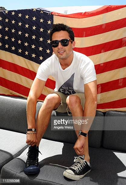 Actor Stephen Colletti attends the Converse Lounge at Ace Hotel on April 15 2011 in Palm Springs California