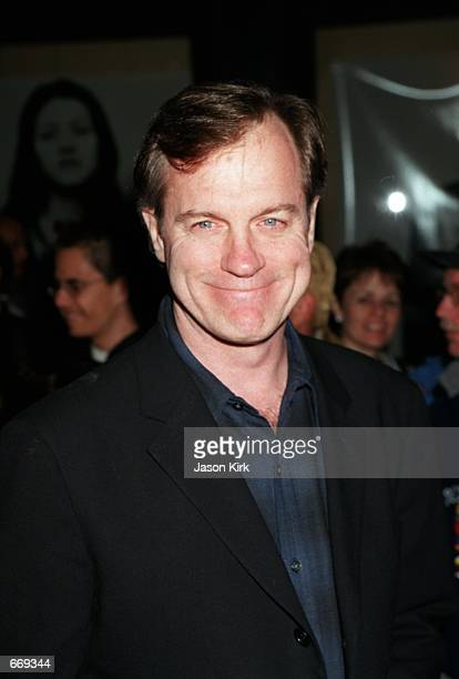 Actor Stephen Collins of '7th Heaven' arrives at the WB Network's 2001 AllStar Party January 6 2001 in Pasadena CA