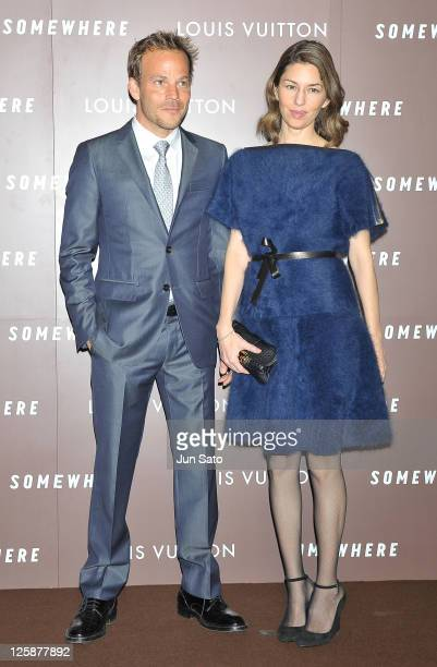 Actor Stephen Dorff and Director/actress Sofia Coppola arrive at the 'Somewhere' Preview And Reception at Louis Vitton Roppongi Hills Store on...