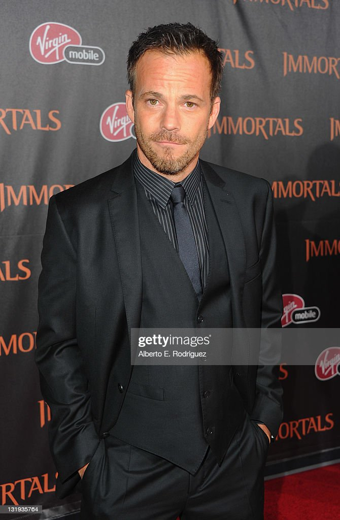 Actor <a gi-track='captionPersonalityLinkClicked' href=/galleries/search?phrase=Stephen+Dorff&family=editorial&specificpeople=206430 ng-click='$event.stopPropagation()'>Stephen Dorff</a> arrives at Relativity Media's 'Immortals' premiere presented in RealD 3 at Nokia Theatre L.A. Live at Nokia Theatre L.A. Live on November 7, 2011 in Los Angeles, California.