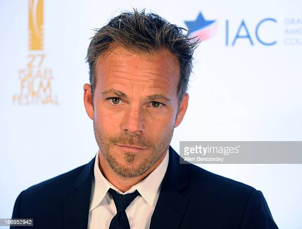 Actor Stephen Dorff arrives at the 27th Israel Film Festival's opening night ceremony at Writers Guild Theater on April 18 2013 in Beverly Hills...