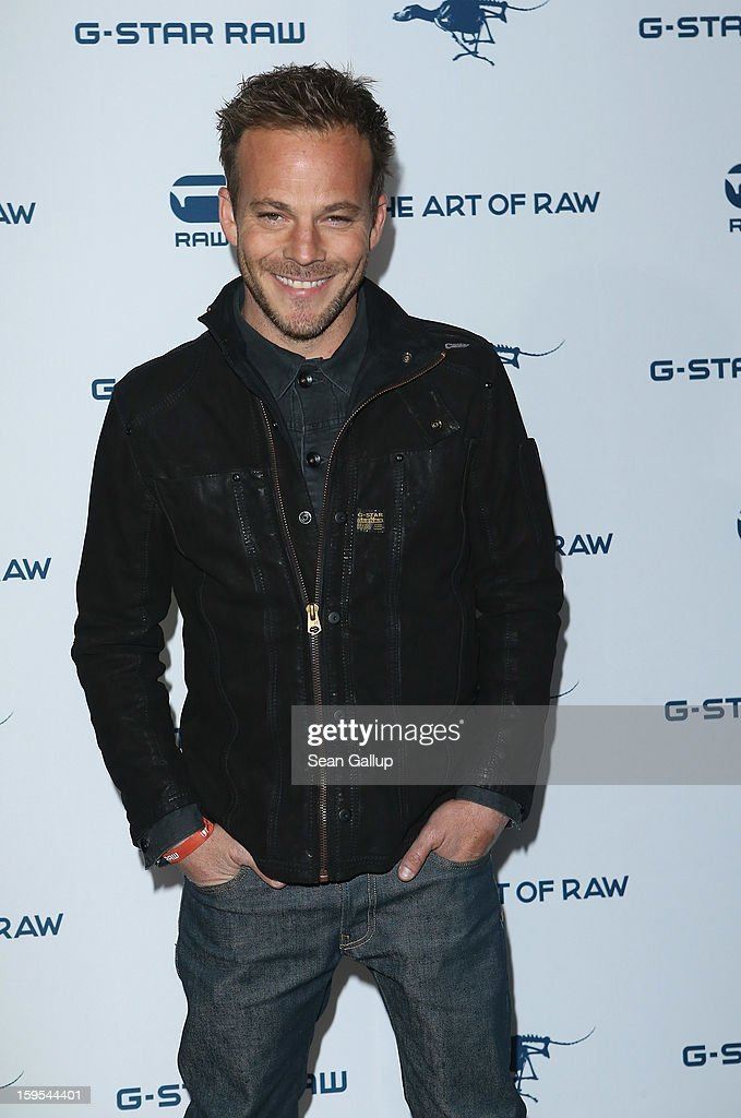 Actor <a gi-track='captionPersonalityLinkClicked' href=/galleries/search?phrase=Stephen+Dorff&family=editorial&specificpeople=206430 ng-click='$event.stopPropagation()'>Stephen Dorff</a> attends the G-Star Autumn/Winter 2013 runway show at St. Agnes Church on January 15, 2013 in Berlin, Germany.