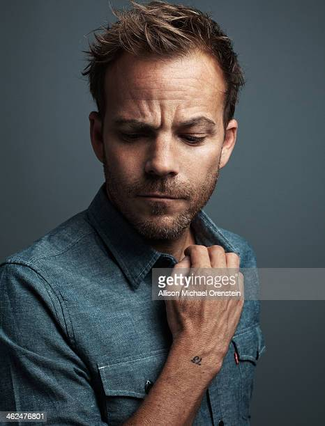 Actor Stephen Dorff is photographed for Wall Street Journal on October 7 2013 in New York City PUBLISHED IMAGE