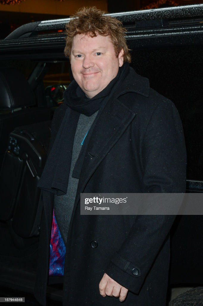 Actor Stephen Hunter leaves the 'Big Morning Buzz' taping at the VH1 Studios on December 7, 2012 in New York City.