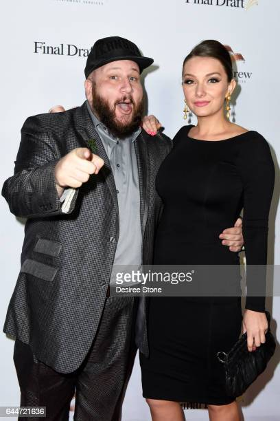 Actor Stephen Kramer Glickman and guest attend the 12th Annual Final Draft Awards at Paramount Theatre on February 23 2017 in Hollywood California