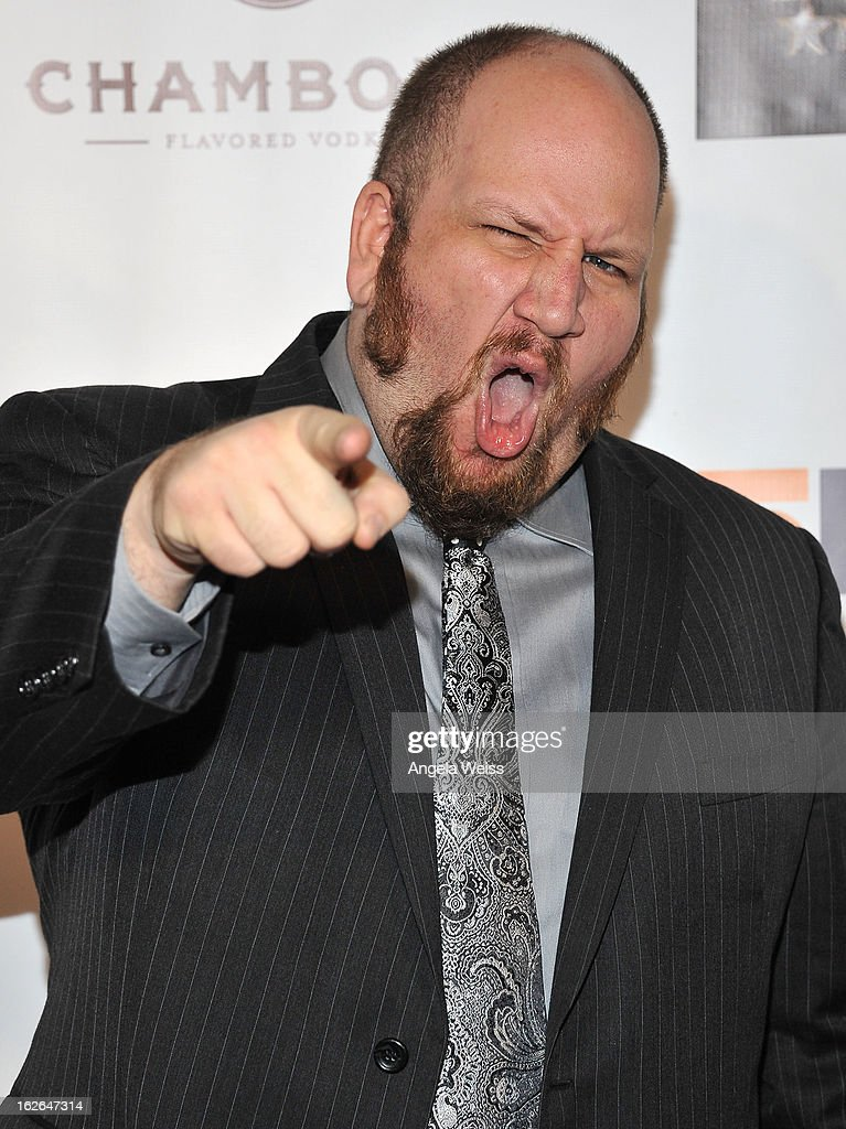 Actor Stephen Kramer Glickman attends the Hellman & Walter's 'Salute To The Stars' Oscar after party at Andaz on February 24, 2013 in West Hollywood, California.