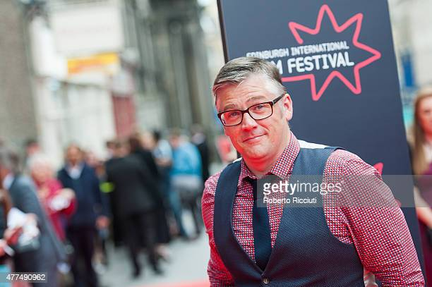 Actor Stephen McCole attends the Opening Night Gala and World Premiere of 'The Legend of Barney Thomson' at Festival Theatre during the Edinburgh...