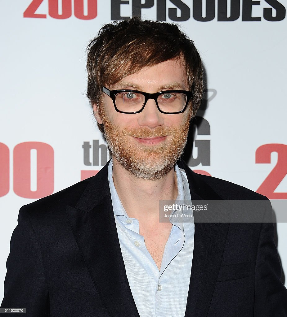Actor Stephen Merchant attends 'The Big Bang Theory' 200th episode celebration at Vibiana on February 20 2016 in Los Angeles California