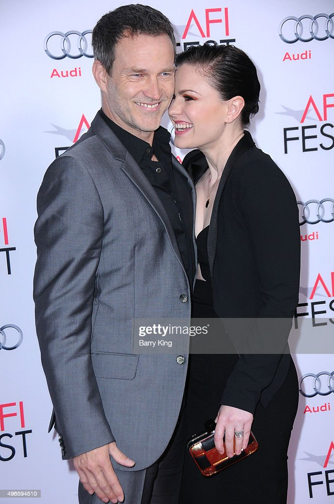 Actor Stephen Moyer and actress Anna Paquin attend the AFI FEST 2015 Presented By Audi Centerpiece Gala Premiere Of Columbia Pictures' 'Concussion'...