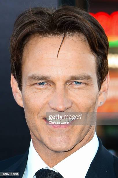 Actor Stephen Moyer arrives at HBO's 'True Blood' final season premiere at TCL Chinese Theatre on June 17 2014 in Hollywood California