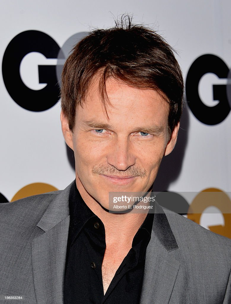 Actor Stephen Moyer arrives at the GQ Men of the Year Party at Chateau Marmont on November 13, 2012 in Los Angeles, California.