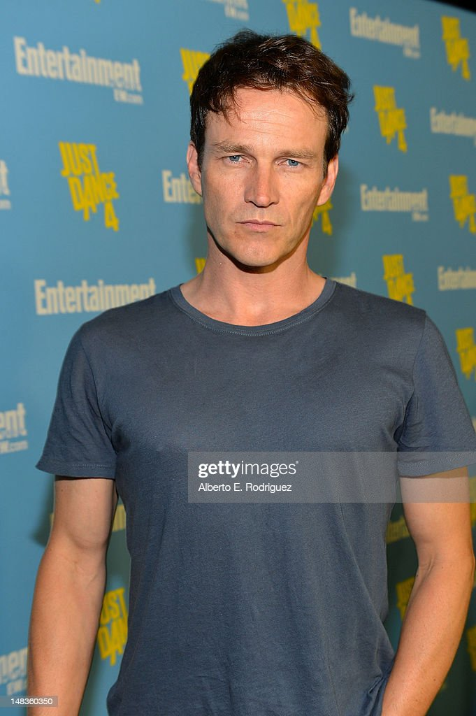 Actor <a gi-track='captionPersonalityLinkClicked' href=/galleries/search?phrase=Stephen+Moyer&family=editorial&specificpeople=4323688 ng-click='$event.stopPropagation()'>Stephen Moyer</a> attends Entertainment Weekly's 6th Annual Comic-Con Celebration sponsored by Just Dance 4 held at the Hard Rock Hotel San Diego on July 14, 2012 in San Diego, California.