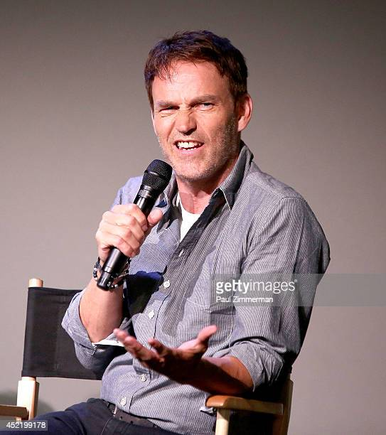 Actor Stephen Moyer attends 'Meet The Cast' at Apple Store Soho on July 15 2014 in New York United States