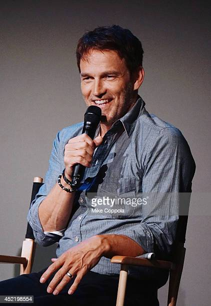 Actor Stephen Moyer attends 'Meet The Cast' on July 15 2014 in New York United States