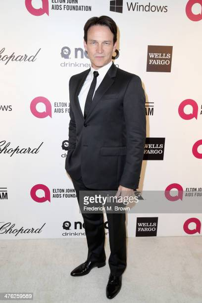 Actor Stephen Moyer attends the 22nd Annual Elton John AIDS Foundation's Oscar Viewing Party on March 2 2014 in Los Angeles California