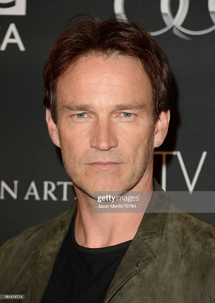 Actor <a gi-track='captionPersonalityLinkClicked' href=/galleries/search?phrase=Stephen+Moyer&family=editorial&specificpeople=4323688 ng-click='$event.stopPropagation()'>Stephen Moyer</a> attends the BAFTA LA TV Tea 2013 presented by BBC America and Audi held at the SLS Hotel on September 21, 2013 in Beverly Hills, California.