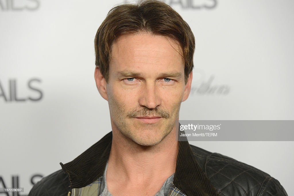 Actor <a gi-track='captionPersonalityLinkClicked' href=/galleries/search?phrase=Stephen+Moyer&family=editorial&specificpeople=4323688 ng-click='$event.stopPropagation()'>Stephen Moyer</a> attends the DETAILS Hollywood Mavericks Party held at Soho House on November 29, 2012 in West Hollywood, California.