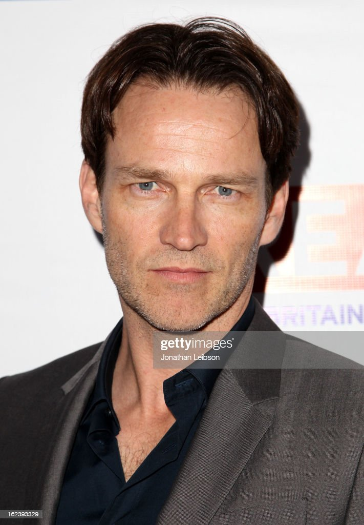 Actor <a gi-track='captionPersonalityLinkClicked' href=/galleries/search?phrase=Stephen+Moyer&family=editorial&specificpeople=4323688 ng-click='$event.stopPropagation()'>Stephen Moyer</a> attends the GREAT British Film Reception at British Consul General's Residence on February 22, 2013 in Los Angeles, California.