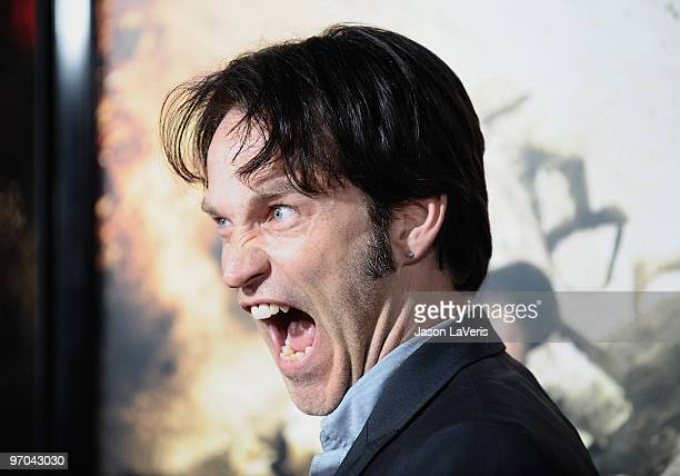 Actor Stephen Moyer attends the premiere of HBO's new miniseries 'The Pacific' at Grauman's Chinese Theatre on February 24 2010 in Hollywood...