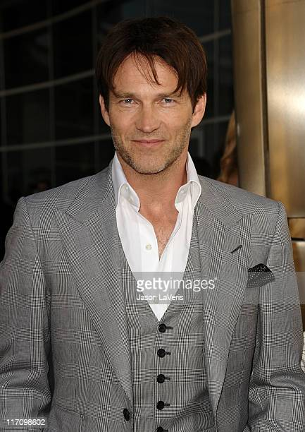 Actor Stephen Moyer attends the premiere of HBO's 'True Blood' at ArcLight Cinemas Cinerama Dome on June 21 2011 in Hollywood California