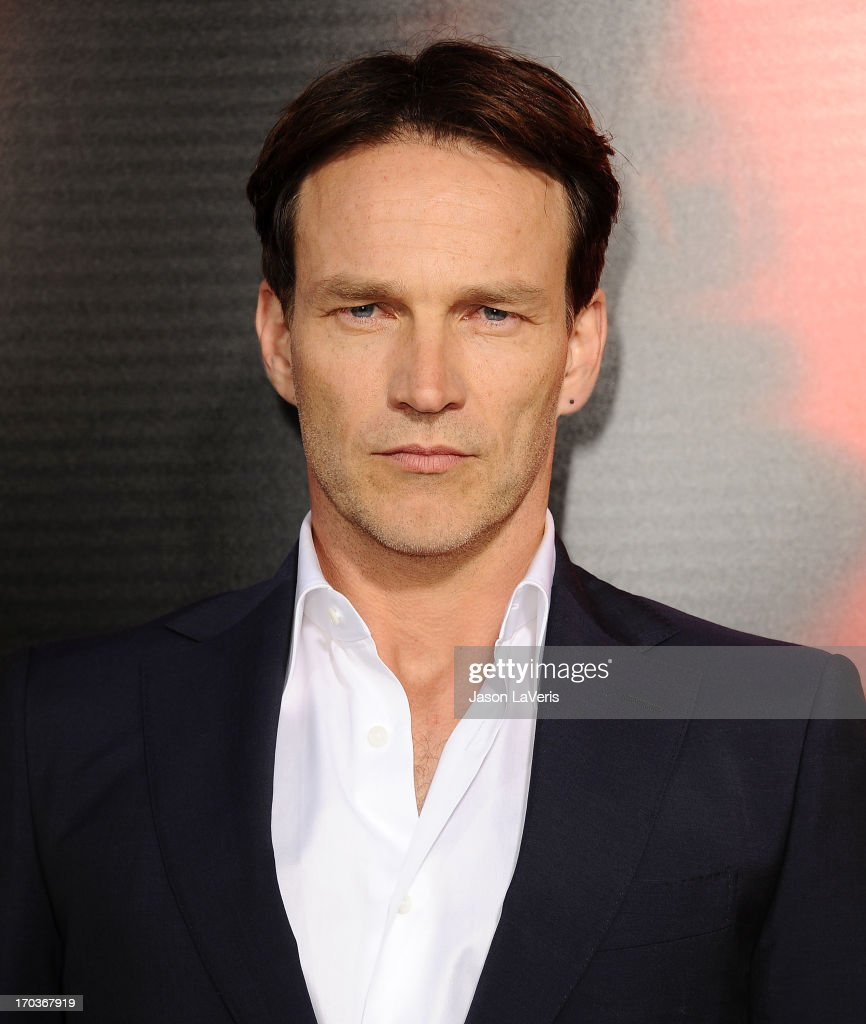 Actor <a gi-track='captionPersonalityLinkClicked' href=/galleries/search?phrase=Stephen+Moyer&family=editorial&specificpeople=4323688 ng-click='$event.stopPropagation()'>Stephen Moyer</a> attends the season 6 premiere of HBO's 'True Blood' at ArcLight Cinemas Cinerama Dome on June 11, 2013 in Hollywood, California.