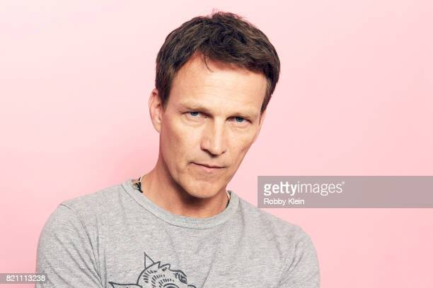 Actor Stephen Moyer from FOX's 'The Gifted' poses for a portrait during ComicCon 2017 at Hard Rock Hotel San Diego on July 22 2017 in San Diego...