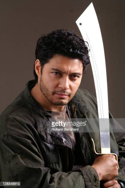 Actor Stephen Rahman Hughes as Zai Jie in a publicity still for the film 'Highlander The Source' 2007