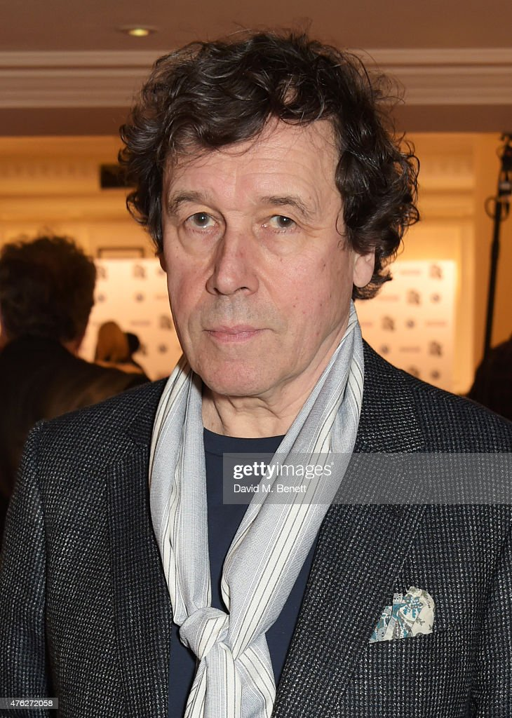 Actor Stephen Rea accepting the Best TV Drama award for 'The Honourable Woman' poses at the South Bank Sky Arts awards at The Savoy Hotel on June 7...