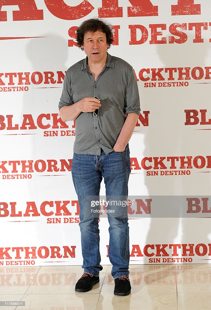 Actor Stephen Rea attends a photocall for 'Blackthorn Sin Destino' at Princesa Cinema on June 28 2011 in Madrid Spain