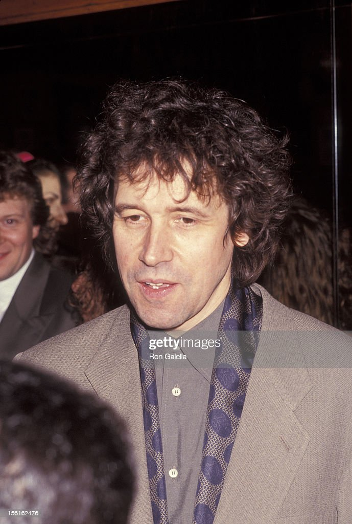 Actor Stephen Rea attends the opening party for 'Someone Who'll Watch Over Me' on November 23 1992 at Gallagher's in New York City