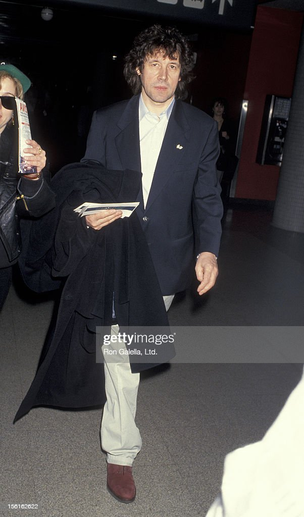 Actor Stephen Rea sighted on March 30 1993 at the Los Angeles International Airport in Los Angeles California