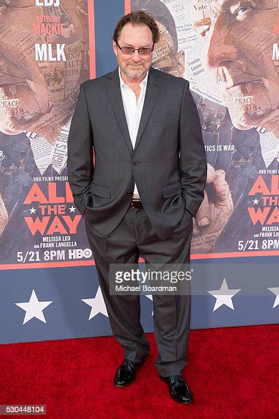 Actor Stephen Root attends the premiere of HBO's 'All The Way' at Paramount Studios on May 10 2016 in Hollywood California