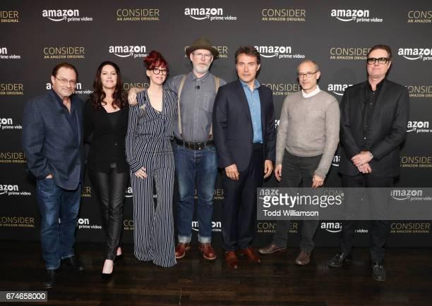 Actor Stephen Root Executive producer Isa Hackett Costume Designer's Guild Nominee JR Hawbaker Emmy nominated Production Designer Drew Boughton actor...