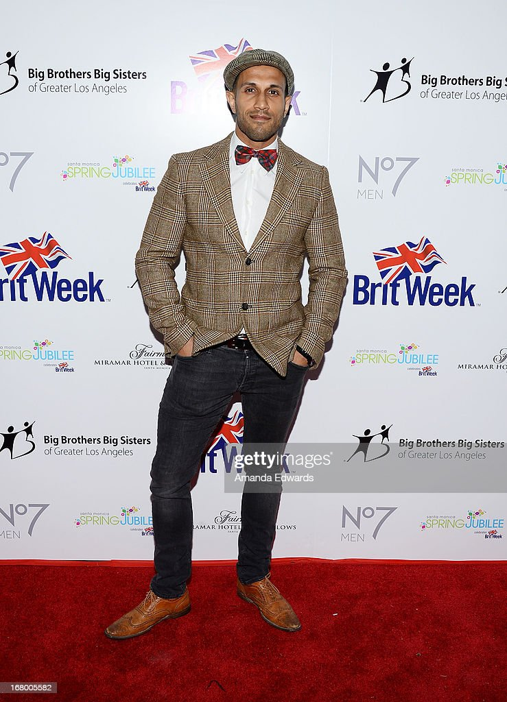 Actor Stephen Uppal arrives at the 'Downton Abbey' Britweek celebration at the Fairmont Miramar Hotel on May 3, 2013 in Santa Monica, California.