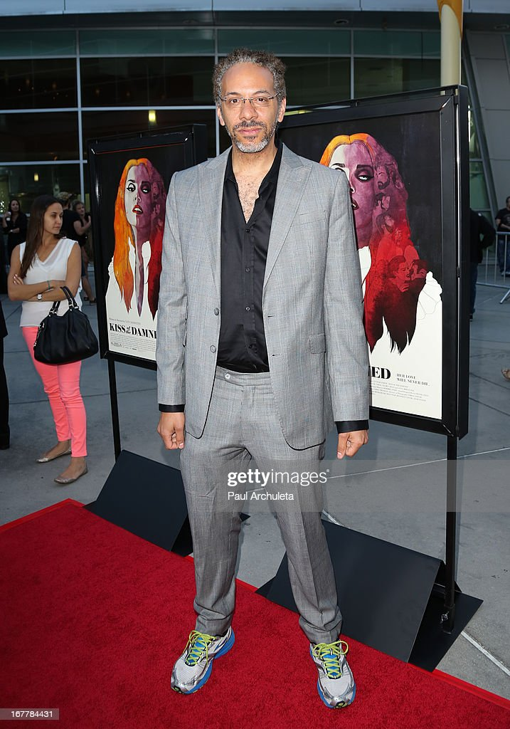 Actor Stephen Winter attends the special screening of 'Kiss Of The Damned' at the ArcLight Hollywood on April 29, 2013 in Hollywood, California.