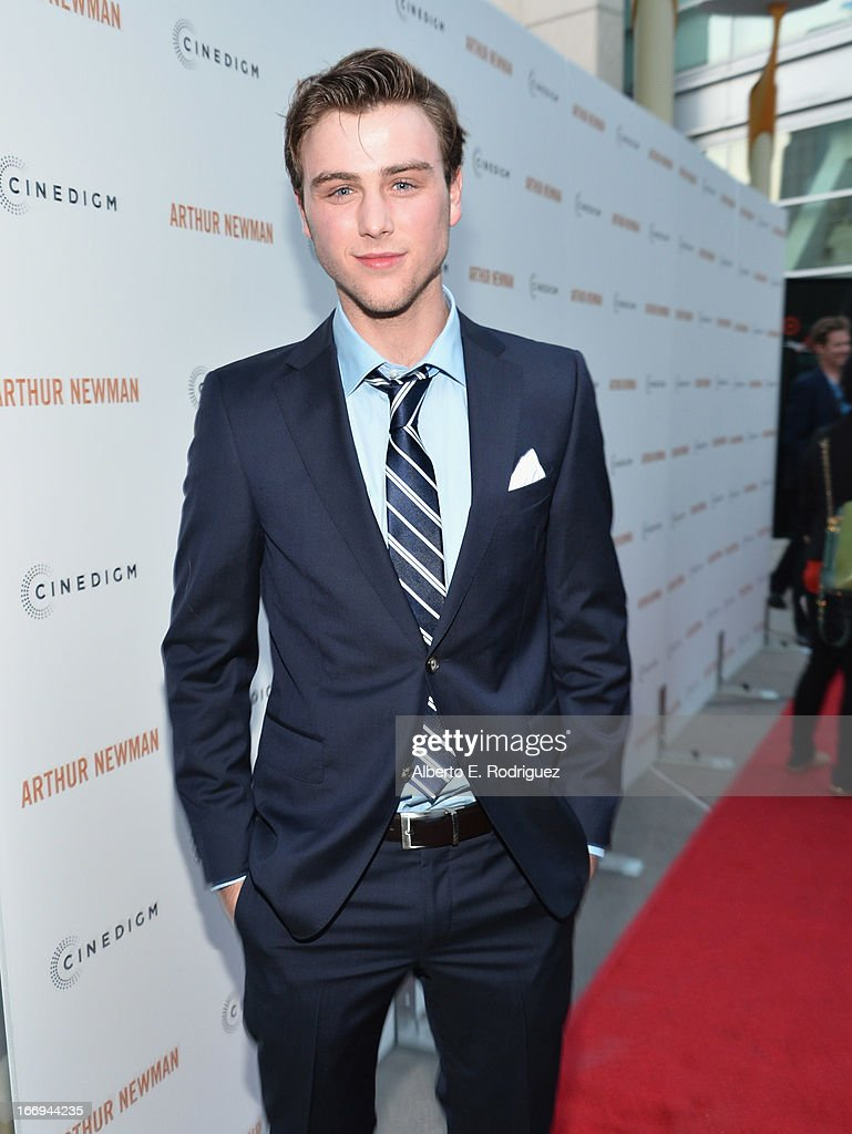Actor <a gi-track='captionPersonalityLinkClicked' href=/galleries/search?phrase=Sterling+Beaumon&family=editorial&specificpeople=656885 ng-click='$event.stopPropagation()'>Sterling Beaumon</a> attend the premiere of Cinedigm's 'Arthur Newman' at ArcLight Hollywood on April 18, 2013 in Hollywood, California.