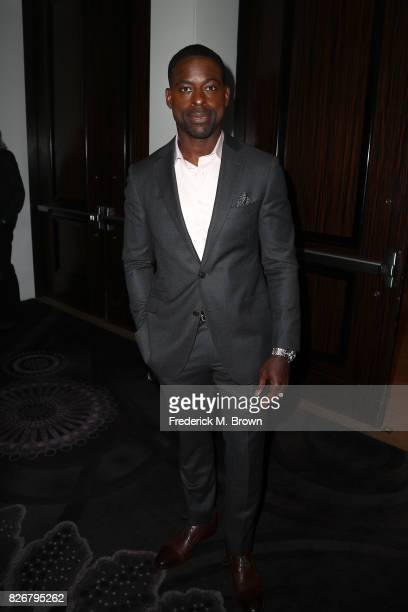 Actor Sterling K Brown at the 33rd Annual Television Critics Association Awards during the 2017 Summer TCA Tour at The Beverly Hilton Hotel on August...
