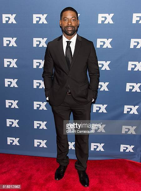 Actor Sterling K Brown attends FX Networks Upfront screening of 'The People v OJ Simpson American Crime Story' at AMC Empire 25 theater on March 30...